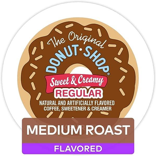 The Original Donut Shop Keurig Single Serve K Cup Pods Medium Roast Coffee 60 Count