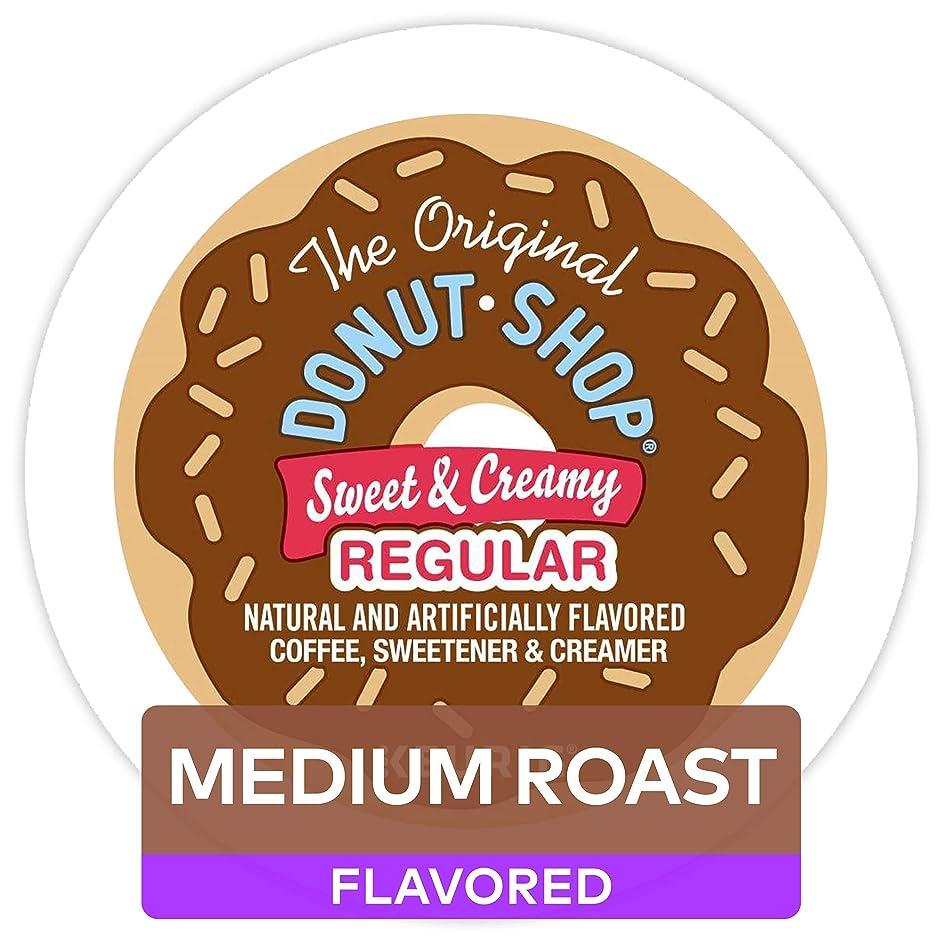 The Original Donut Shop Keurig Single-Serve K-Cup Pods, Medium Roast Coffee (6 pack x 10 , 60 count)