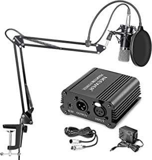Neewer NW-700 Professional Condenser Microphone & NW-35 Suspension Boom Scissor Arm..