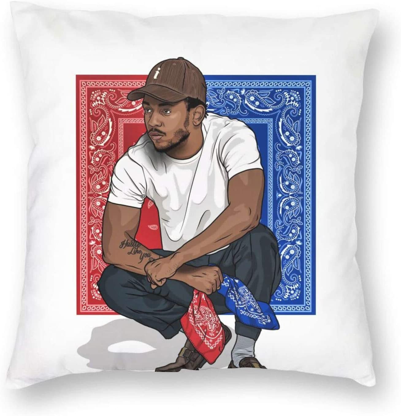 Vbdfd Kendrick Lamar Pillowcase Ultra Soft Body Pillow Cover Pillowcase Breathable Cool Ultra Soft Pillow Cases Wrinkle Shrinkage And Fade Resistant Pillow Covers 16 X16 Home Kitchen