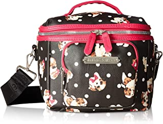 Womens Puppies Print Lunch Tote
