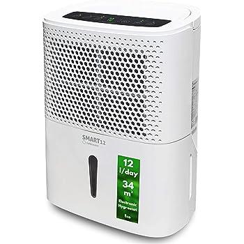 Qlima D 612 - Deshumidificador (190 W, 230 V, 50 Hz, 5-35 °C, 290 ...