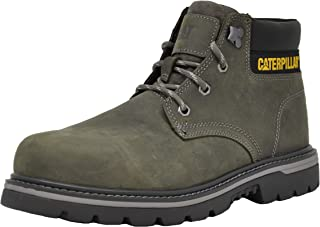 حذاء عمل Caterpillar رجالي من الفولاذ الخارجي عند الأصابع، رمادي فحمي 9. 5 M US