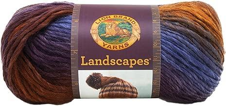 Best lion brand landscapes yarn patterns Reviews