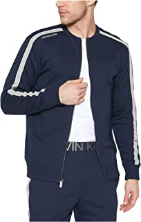 Calvin Klein Full Zip Sweatshirt, Shoreline Blue