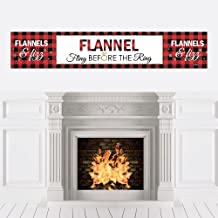 36 Banner Cutouts and No-Mess Real Gold Glitter Bride to Be Banner Letters Flannel Fling Before The Ring Buffalo Plaid Bachelorette Party Letter Banner Decoration