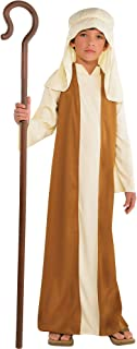 Amscan Beige Saint Joseph Costume for Boys, Bible Costumes for Kids, Large, with Included Accessories