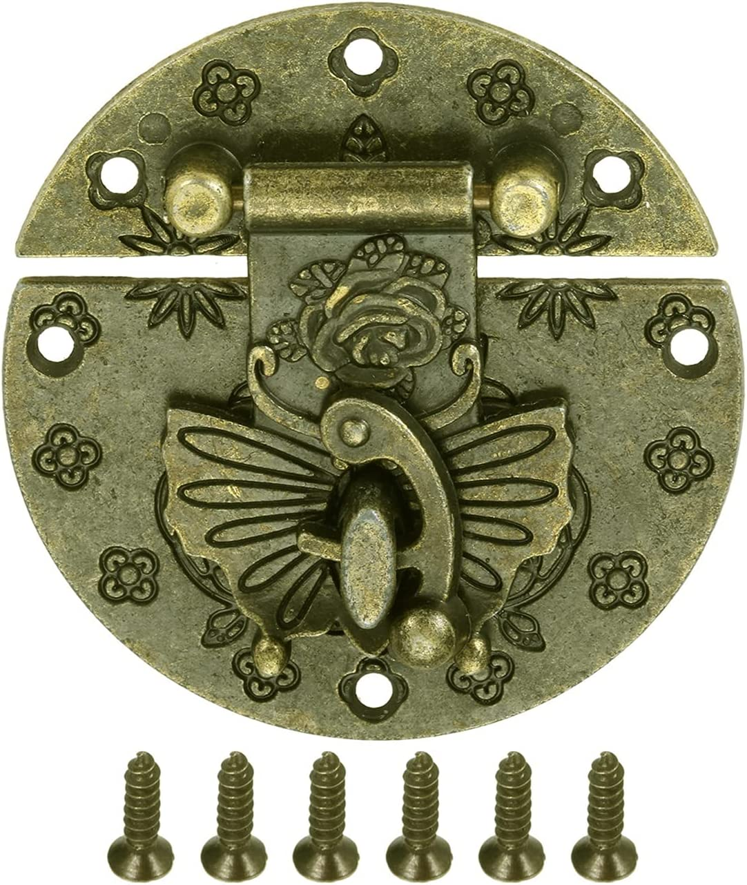 Household outlet Furniture Hardware OFFicial mail order Hinges Butterfly Old-fashioned 58mm