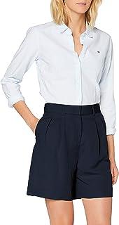 Tommy Hilfiger Linen Tencel Short Jeans Slim Donna