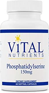 Vital Nutrients - Phosphatidylserine - Promotes Cognitive Support - 150 mg - 60 Softgel Capsules per Bottle