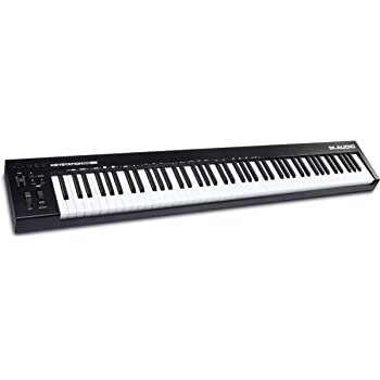 M-Audio Keystation 88 MK3 – 88 Key Semi Weighted MIDI Keyboard Controller for Complete Command of Virtual Synthesizers and DAW parameters