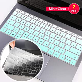 [2Pcs] Lapogy-Huawei MateBook X Pro Keyboard Cover Ultra Thin Soft-Touch Silicone Protective Skin for Huawei MateBook X Pro 13.9