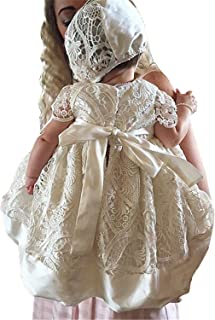 Christening Gown Dress Lace Christening Gowns for Girls Baptism Dress 0-24 Months
