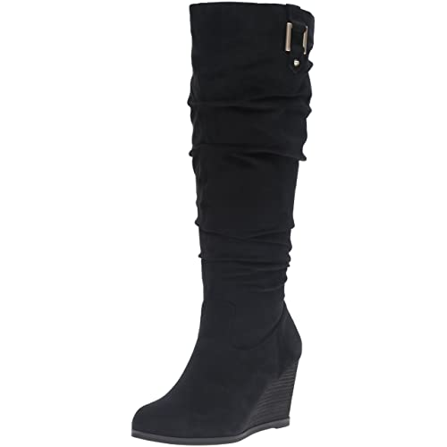 4118b679a4c29 Dr. Scholl's Shoes Women's Poe Wide Calf Slouch Boot