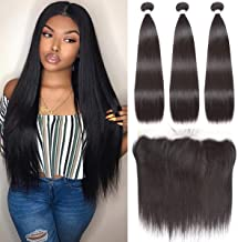 hair bundles with frontal closure