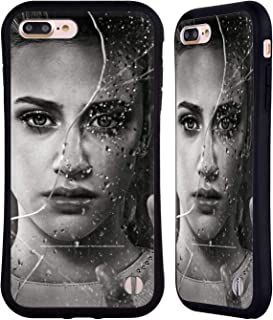 Official Riverdale Betty Cooper Broken Glass Portraits Hybrid Case Compatible for iPhone 7 Plus/iPhone 8 Plus