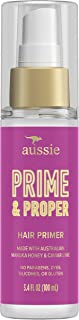 Aussie Prime & Proper Hair Primer Treatment, Infused with Australian Manuka Honey and Caviar Lime, Paraben & Dye Free, 3.4 Oz