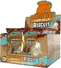 Grenade Carb Killa Cookie - Salted Caramel, (12 Packs of 2 Biscuits)