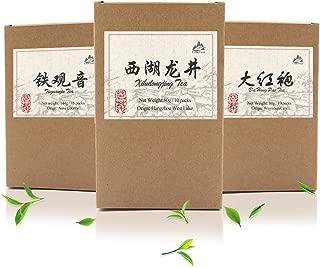 Luxtea Classical Chinese Tea Xi Hu Long Jing Tea West lake Dragon Well Tea Longjing Green Tea Pack of 10 Teabags
