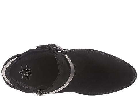 Combo Aquatalia Suede Liana Black Calf 1zIxvqwgYI