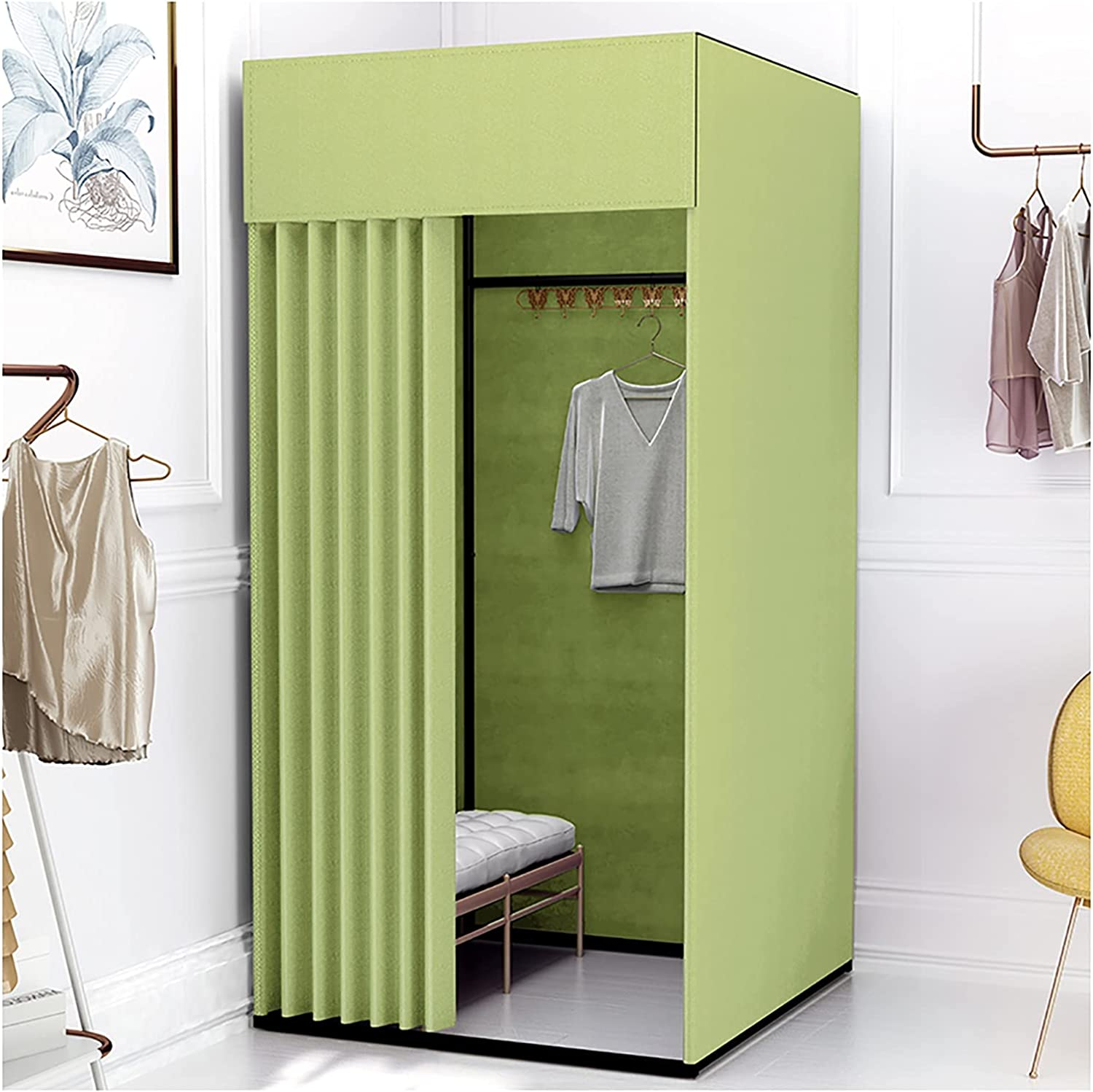 Fitting Room Dressing with Linen Many popular Outlet SALE brands Outdoor Sho Private Cloth