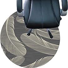 Floor mat Office Chair Short Pile Carpets Anti Slip Rug Pad Silent Floor Mat Easy to Clean Floor Protector Mat(Size:100cm/...