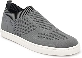 Parx Solid Medium Grey Coloured Synthetic Sneaker