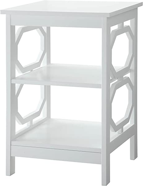 Convenience Concepts Omega End Table White