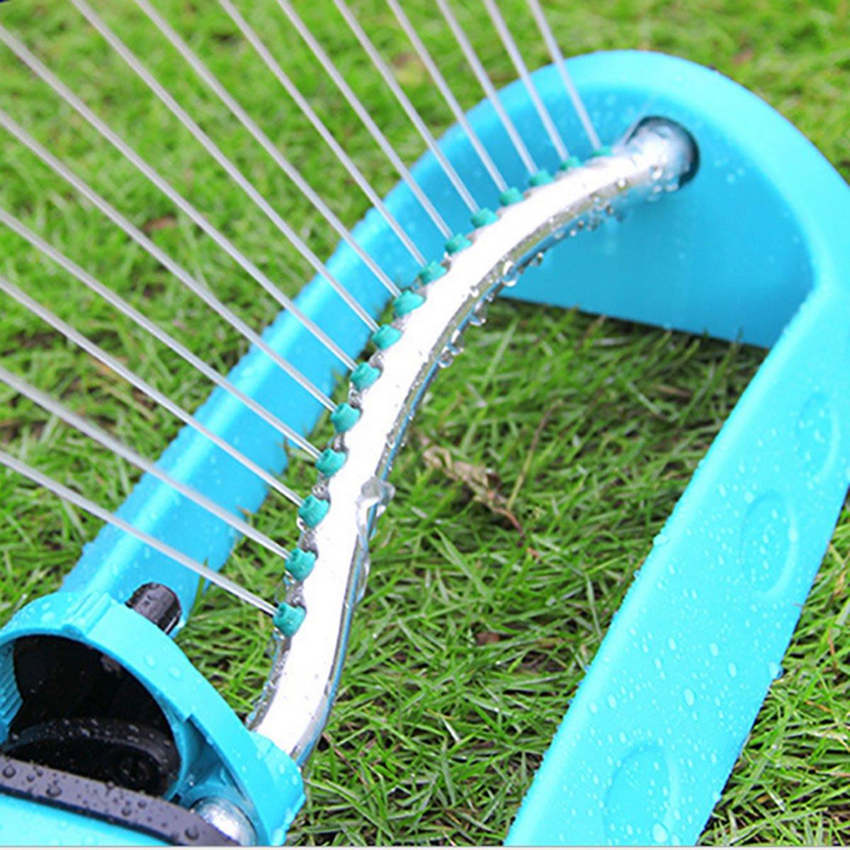 bauewyhui granja jardín riego, amplia Swing asiento disco aspersores, jardín césped riego, agua Spray de refrigeración: Amazon.es: Jardín