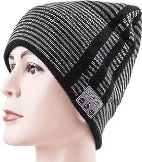 HONGYU Music Hat Bluetooth Headset Beanie Hat Warm Knitted Winter Hat with Stereo Speaker Headphone Micro Phone Hands Free...