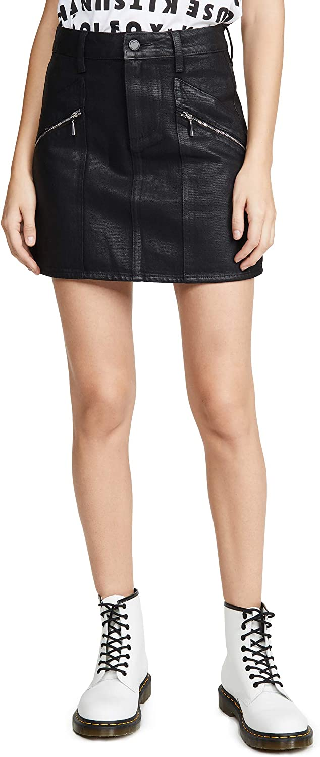 PAIGE Women's Aideen Skirt with Zips