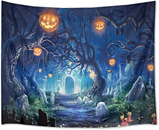 """HVEST Baseball Tapestry Dinosaur Wall Hanging Ocean Tapestries Space Yoga Wall Decorations Animal Backdrop for Birthday Party Wall Decor 80"""" X 60"""" Multi ZGT1713-2-ZMG"""
