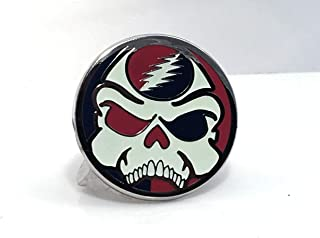 Grateful Dead Skeletor Your Face hard enamel pin with GLOW in the dark white limited edition of 50