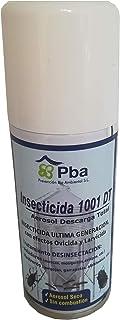 PBA Insecticida, Ovicida, Larvicida y Acaricida 1001 DT Aerosol Descarga Total contra Insectos Rastreros y Voladores - 100ml