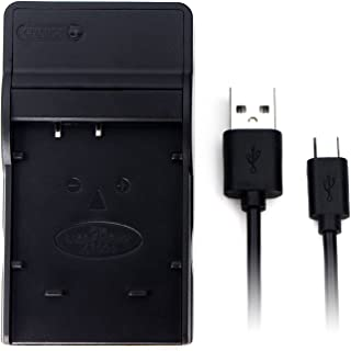 NP-50 USB Charger for Fujifilm FinePix F200EXR, F300EXR, F500EXR, F550EXR, F660EXR, F750EXR, F770EXR, F800EXR, F80EXR, F85...