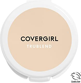 COVERGIRL, truBlend Pressed Blendable Powder, Translucent Fair, .39 oz, 1 Count (Packaging May Vary)