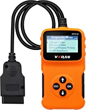 VXDAS OBD2 Scanner Car Diagnostic Scan Tool Check Engine Light Universal OBDII Code Reader, Smog Check of All CAN Fault Ca...