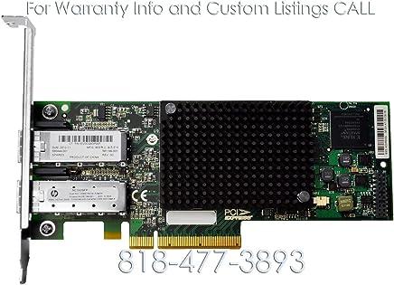 HP Emulex NC550SFP 10G デュアルポート SFP+ PCI-E 2.0 x8 サーバーアダプター - [HP P/N: 581199-001] [スペアP/N: 586444-001 (認定整備品)