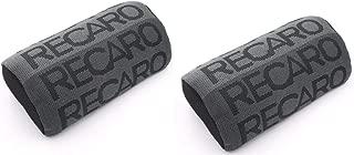 2PC JDM Recaro Racing Gradation For Car Seat Neck Rest Headrest pillow Fabric bucket seat material