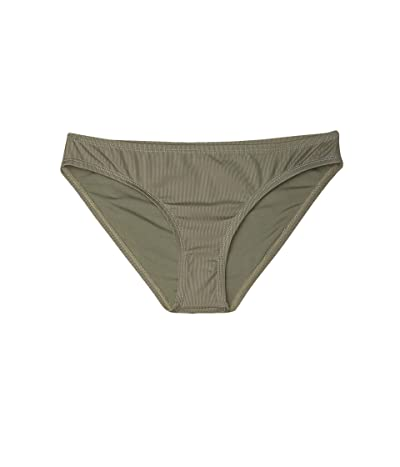 Carve Designs St. Barth Bikini Bottom (Moss) Women
