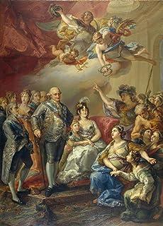 López Portaña Vicente Carlos IV y su Familia honrados por la Universidad Rompecabezas Juguete de Madera Familia Adulta Ami...