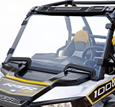 AURELIO TECH Hard Coated Polycarbonate Clear UTV Full Windshield for Polaris Razor, 2019-2021 RZR XP 1000, 2019-2021 RZR X...
