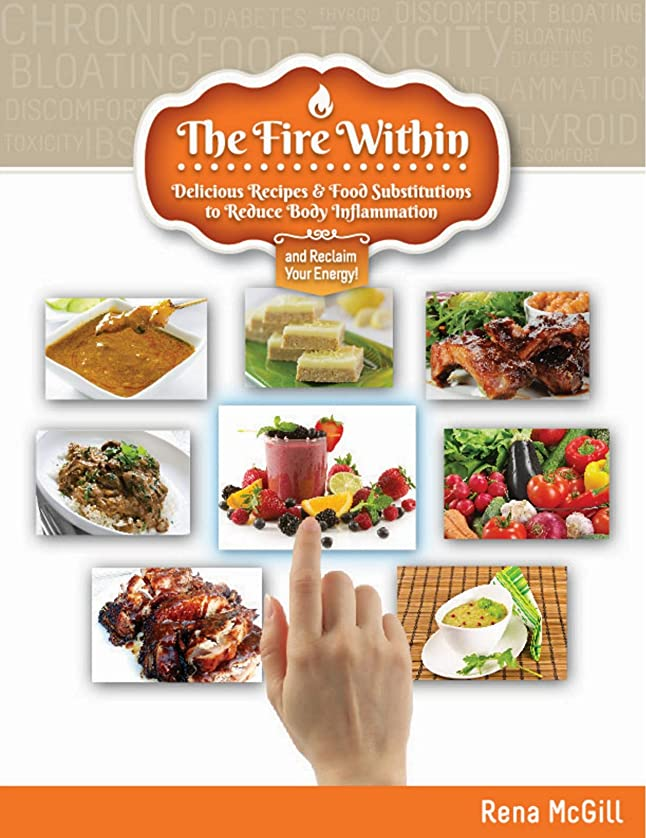 The Fire Within: Delicious Recipes & Food Substitutions to Reduce Body Inflammation and Reclaim Your Energy! (English Edition)