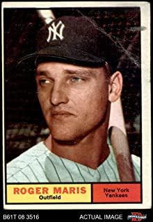 1961 Topps # 2 Roger Maris New York Yankees (Baseball Card) Dean's Cards 2 - GOOD Yankees