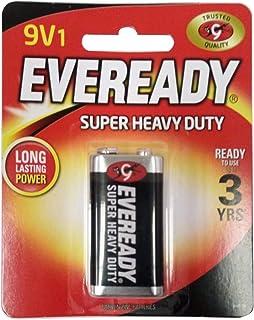Eveready Multi-Purpose Carbon Zinc Batteries - 9 Volt