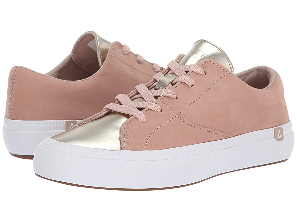 Sperry Haven Lace-Up Metallic (Rose/Gold) Women