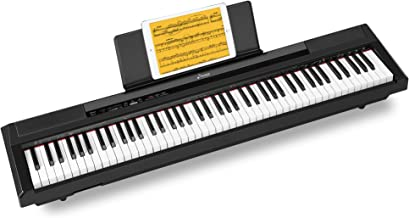 Donner DEP-10 Beginner Digital Piano 88 Key Full Size Semi W