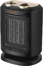 COMLIFE Calefactor Cerámico PTC 900W / 1800W Mini Ventilador de Calentacdor Eléctrico contra Sobrecalentamiento y Protección contra Volcado Viento Natural o Caliente para Oficinas y Hogar