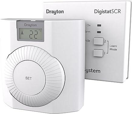 10 /Thermostat analogique de chauffage 230/V SPDT interrupteur on//off et lampe 30/ºC T//N Honeywell t6360/C1018/