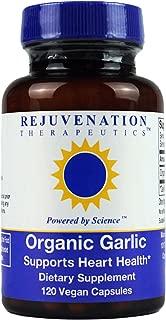 Pure Organic Garlic Multivitamin Health Supplement - 120 Vegan Capsules (500 mg)